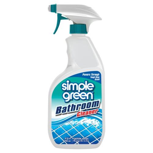 Green Bathroom Cleaners That Work: Simple Green : Simple Green® Bathroom Cleaner 946mL